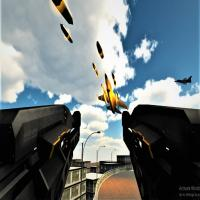 Game Anti Aircraft Attack : Modern Jet War