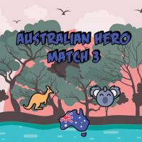 Game Australian Hero Match 3