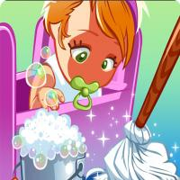 Game Baby Cleaning