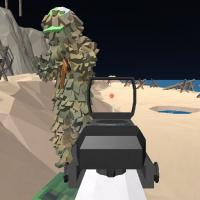 Game Beach Assault GunGame Survival