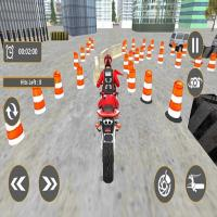 Game Bike Parking : Motorcycle Racing Adventure 3D