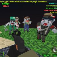 Game Blocky Combat Strike Zombie Survival