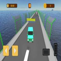 Game Broken Bridge Ultimate Car Racing Game 3D