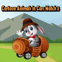 Game Cartoon Animals In Cars Match 3