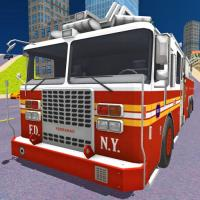 Game City Fire Truck Rescue