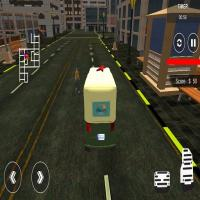 Game City Tuk Tuk Rickshaw : Chingchi Simulator Game