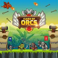 Game Clash of Orcs