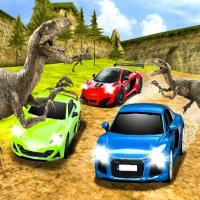 Game Dino Car Race