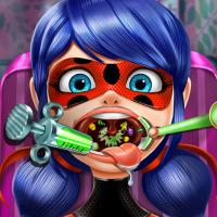 Game Dotted Girl Throat Doctor
