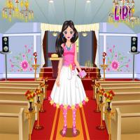 Game Flower Girl Dressup