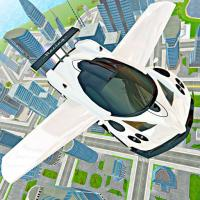 Game Flying Car Real Driving