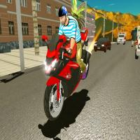 Game Highway Bike Traffic Moto Racer 2020