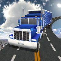 Game Impossible Truck Track Driving Game 2020