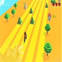 Game Infinite Bike Runner Game 3D