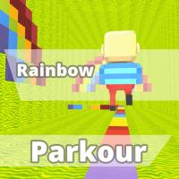 Game KOGAMA Rainbow Parkour