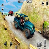 Game Mountain Climb Passenger Jeep Simulator Game