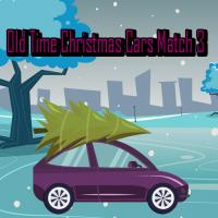 Game Old Time Christmas Cars Match 3