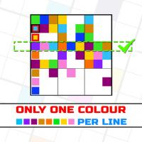 Game Only 1 color per line