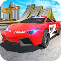 Game Police Car Stunt Driver
