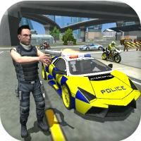 Game Police Cop Car Simulator City Missions