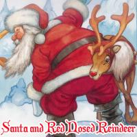 Game Santa and Red Nosed Reindeer Puzzle