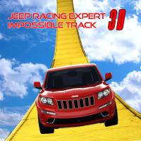Game Stunt Jeep Simulator : Impossible Track Racing Game